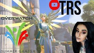 OVERWATCH on PC. Mercy/Moira main. Drinking stream! Summer Games update! Come hang out!