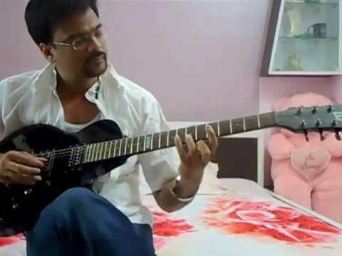 Zindgi K Safar Me Gujar Jate hain jo mukaam on Guitar