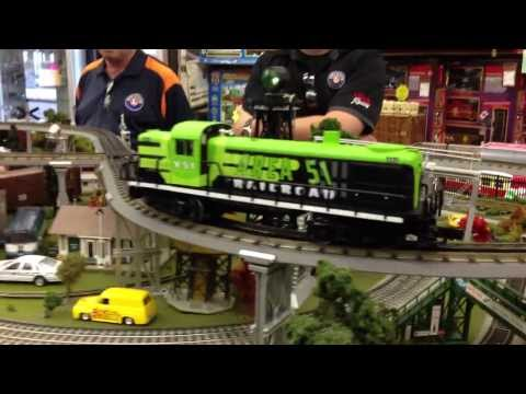 Lionel Area 51 #30206 Diesel Locomotive Sneak Peek! TrainWorldTV   Train World