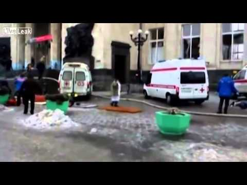 Volgograd train station bombing aftermath