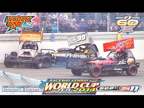 BriSCA F1 StockCar Racing 2014: The Venray World Cup