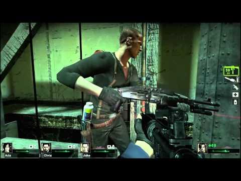 Resident Evil 6 in Left 4 Dead 2