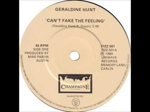 Geraldine Hunt - Can't Fake The Feeling (Dj ''S'' Bootleg Extended Dance Re-Mix)