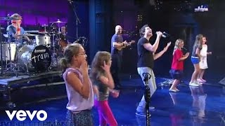 Train Hey Soul Sister Live On Letterman