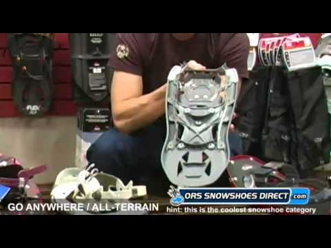 2011 Go Anywhere / All-Terrain Snowshoes Comparison Video Review by ORS Snowshoes Direct