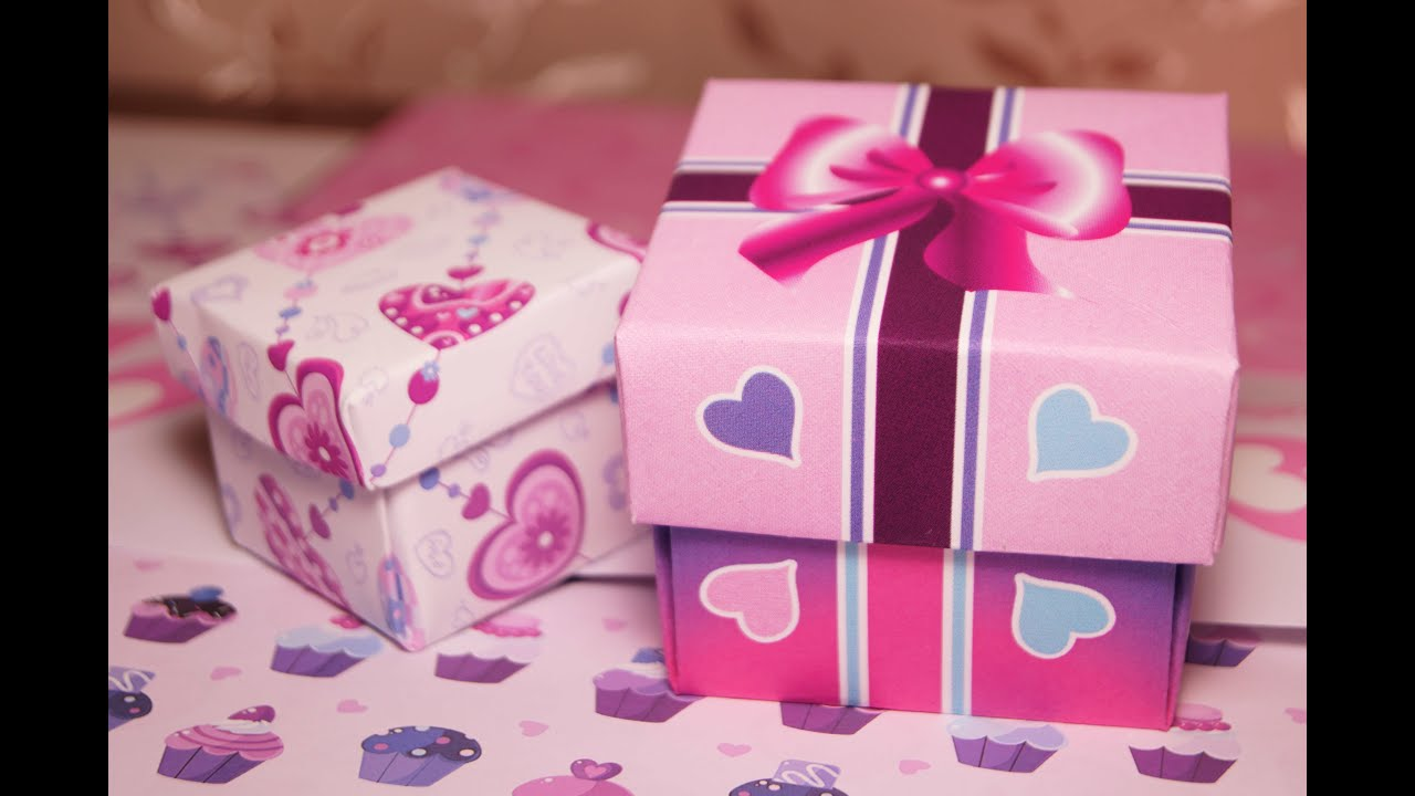 Коробочки для подарков своими руками на день 621