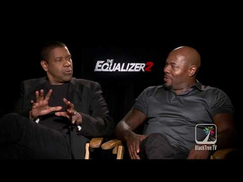 The Equalizer 2 Interview Antoine Fuqua Suggest Denzel Washington For Scarface Remake