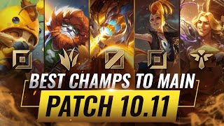 3 BEST Champions To MAIN For EVERY ROLE in Patch 10.11 - League of Legends Season 10