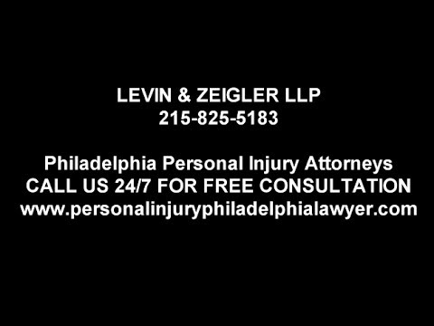 Philadelphia Car Accident Attorney  -  215-825-5183 - Levin & Zeiger LLP