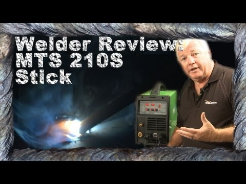 Welder Review Everlast MTS 210: Part 3 (Stick Welding)   TIG Time