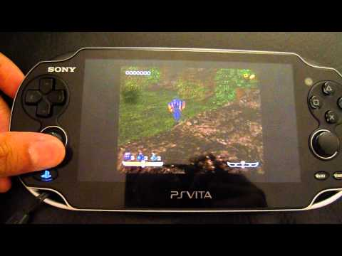 PSX Games running on the PS Vita