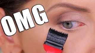 WORLD'S SCARIEST MASCARA ... OMG!