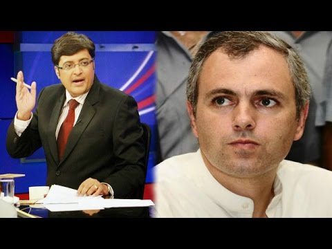 The Newshour Debate: Omar Abdullah Out Of Sync - Full Debate (25th August 2014)
