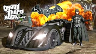 GTA 5 Mods ULTIMATE BATMAN MOD! GTA 5 Batman, Batmobile, Batwing & Batpod Mod! (GTA 5 Mods Gameplay)