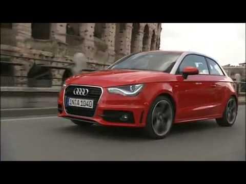 Audi A1 S Line Pictures. Audi A1 S-line circulando por.