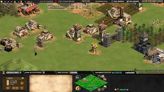 AGE OF EMPIRES 2 ! EXPERT PLAYERS ! MISTER YO vs DAUT - MAP ARABIA