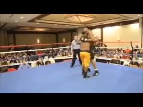 Biggest mismatch in boxing ends with a surprise KO!