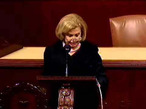 Rep. Carolyn Maloney speaks about Geraldine Ferraro, April 5th, 2011