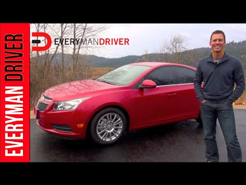 2013 Chevy Cruze Eco Review on Everyman Driver with Dave Erickson. Questions, Advertising, Sponsorship: Email everymandriver@gmail.com. Please visit http://w...