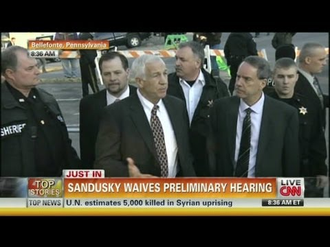 Sandusky waives hearing on sex abuse charges - Worldnews.