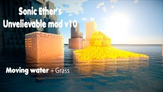 Minecraft Extreme Realistic Shader - Sonic Ethers Unbelievable Mod V10