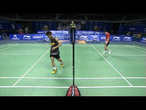 2011 OSIM BWF World Superseries Finals-MS-MS - Group A-Chong Wei Lee vs. Sho Sasaki