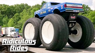 Bigfoot #5 - The World's Biggest Monster Truck | RIDICULOUS RIDES