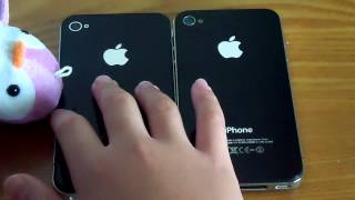 fake iphone vs real iphone 4