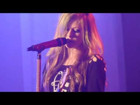 Avril Lavigne -airplanes  My Happy Ending  Don't Tell Me (the Black Star Tour-singapore 2011) video