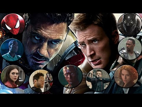 Captain America: Civil War - Picking Sides!