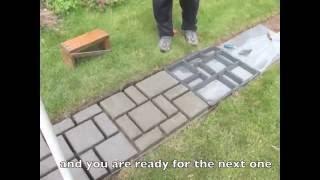 Садовая дорожка своими руками 10 м за 5 часов