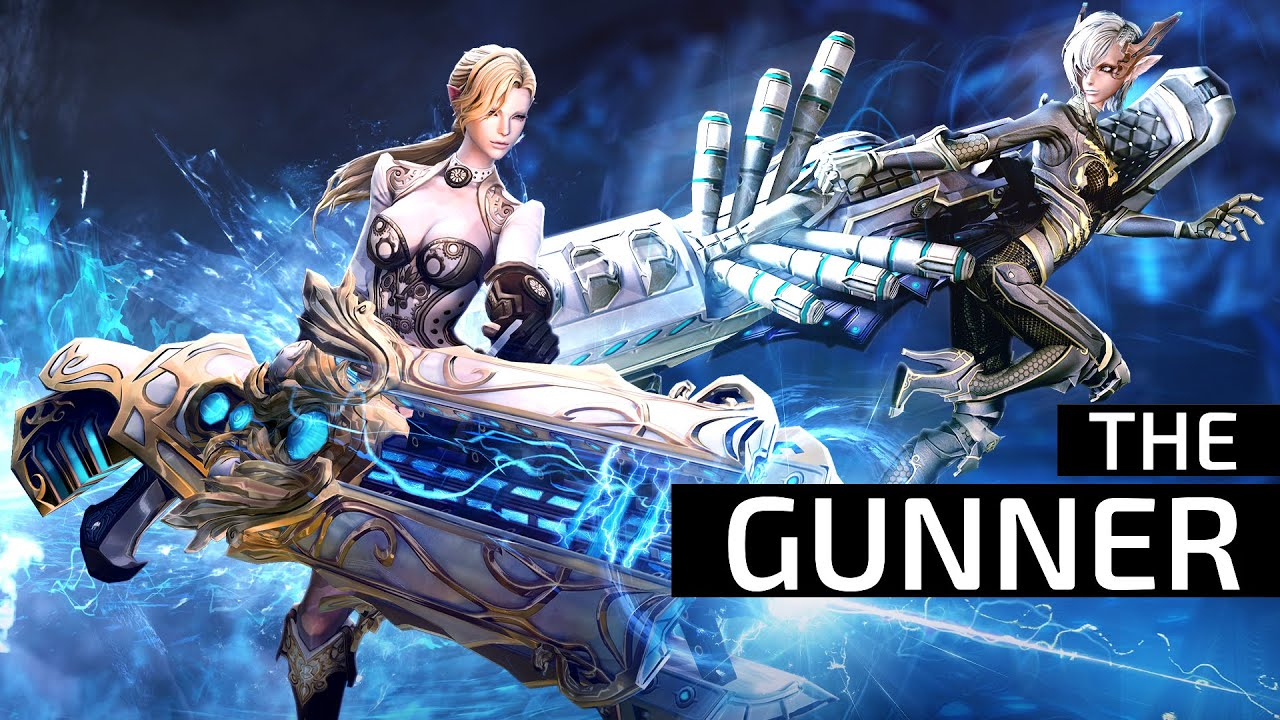 Learn more about the gunner! http://goo.gl/ndGKYd If you like fast-paced action, dominating combat, and can handle some serious firepower, say hello to TERA'...