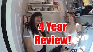 LG Washer Dryer Combo Four Year Review!..Our Third on YouTube!
