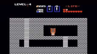 "The Legend of Zelda (NES) Walkthrough (Part 5) - Level 4 ""Snake"" Dungeon"