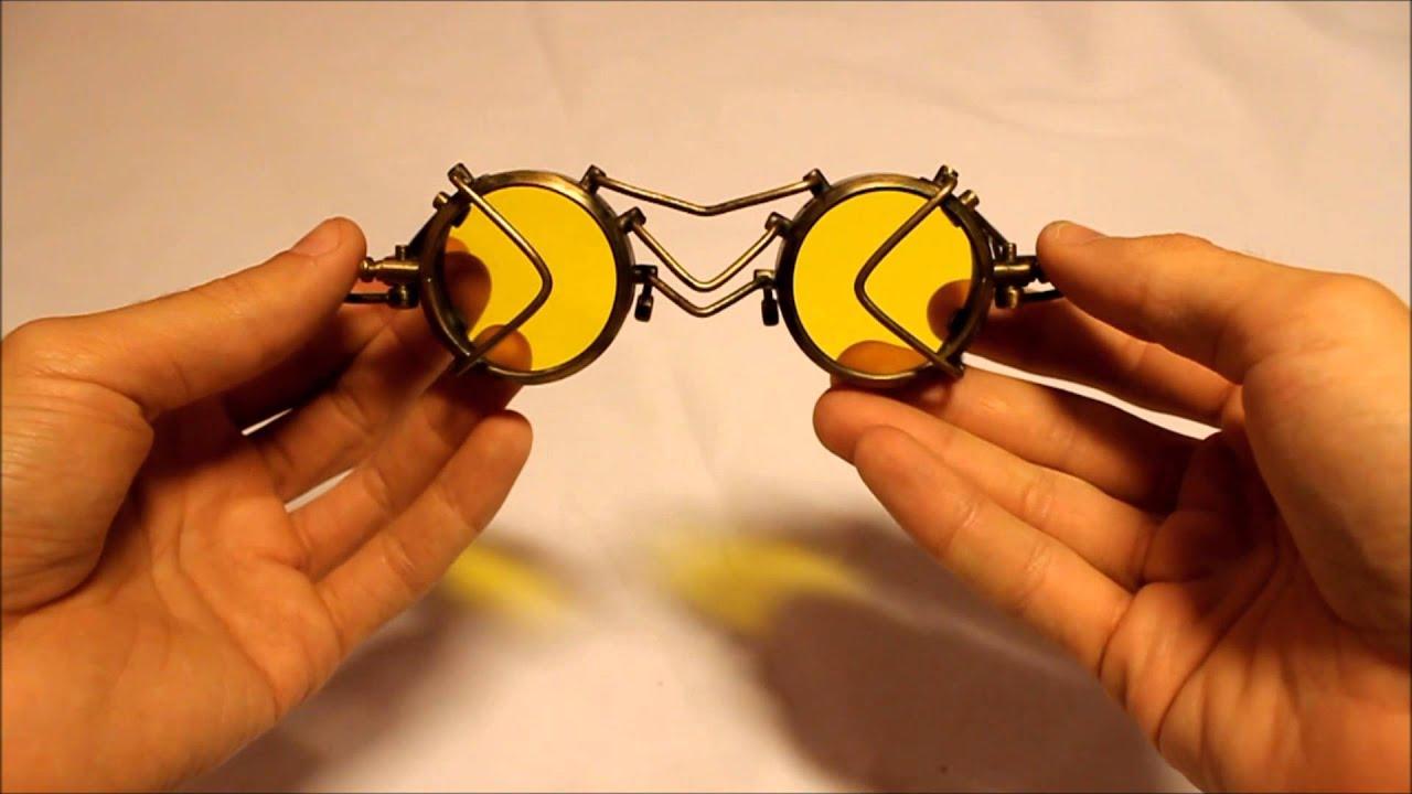 Steampunk очки своими руками 6