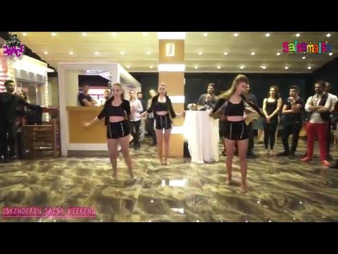 Ritmo Latino Ladies Dance Performance - Iskenderun Salsa Weekend