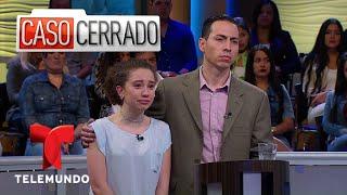 Humillo A Mi Hija Porque No Se Debe Mentir 😇💁 | Caso Cerrado | Telemundo