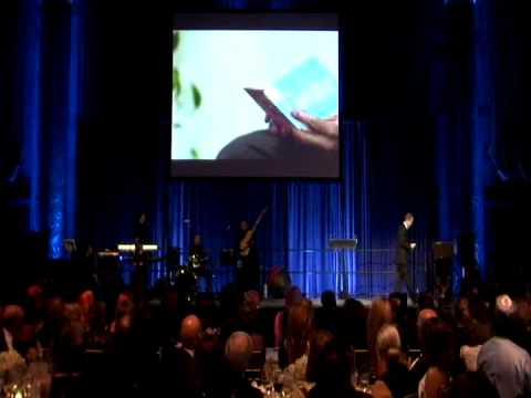 U.N. Secretary-General Ban Ki-moon's light-hearted speech at the UNCA Awards Gala and Dance