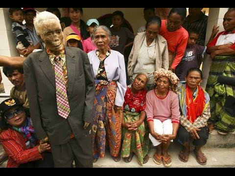 The Walking Dead In Reality: The Rituals of Toraja