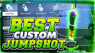 NEVER MISS ANOTHER SHOT AGAIN 😱 BEST CUSTOM JUMPSHOT IN NBA 2K19! GREEN RELEASE EVERY TIME 100%