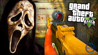 "GTA 5 Funny Moments - ""SCARY SECRET!"" - (Grand Theft Auto V PS4 Gameplay)"