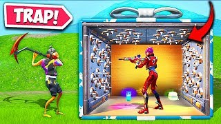 *NEW TROLL* PUTTING TRAPS INSIDE PRESENTS! – Fortnite Funny Fails and WTF Moments! #630