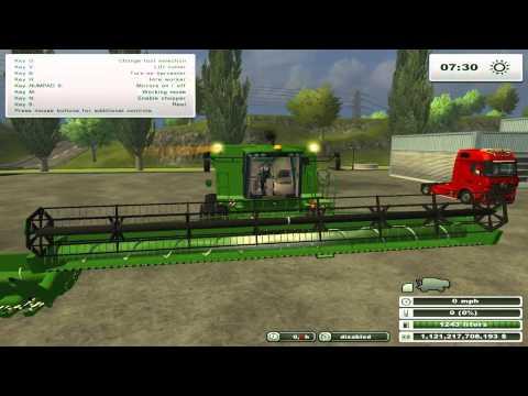 Farming simulator 2013 mod showoff (John Deere S690i