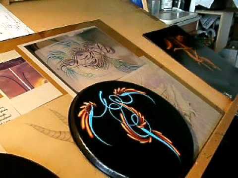 Scroll pinstriping use brush is mack series 444 4 videominecraft how i scroll publicscrutiny Gallery