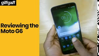 Moto G6 | Phone review | giffgaff