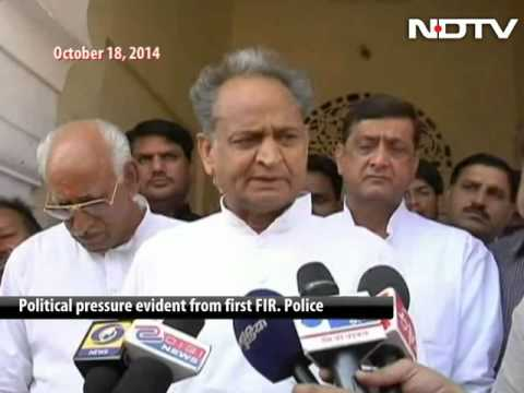 Vasundhara wants CBI probe against Ashok Gehlot, Sachin Pilot