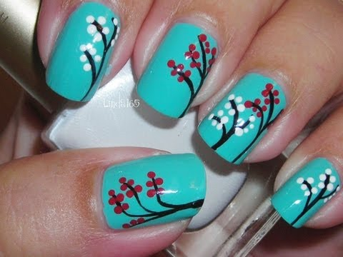 Nail Art - Choose Joy (inspired) - Decoracion de uñas