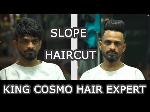 Hairstyles Designs And Ideas For Men 2018 |  slope haircut for mens | king cosmo hair expert