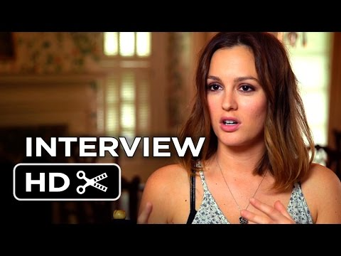 The Judge Interview - Leighton Meester (2014) - Robert Downey Jr., Robert Duvall Movie HD