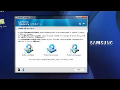 Samsung Recovery Solution 4 - Performing A System Software ...